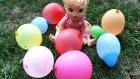 Baby Alive Maya Balon Patlatmaca Oyunu