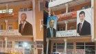 Davutoğlu'nun Fotoğrafının Üzerine Binali Yıldırım'ın Yüzü Yapıştırıldı