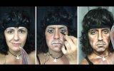 Makyajla Ünlülere Benzeyen Kadın