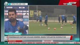 Volkan Demirel: Ben Profesyonel Düşünemem Doğuştan Fenerbahçeliyim