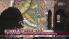 2000 Yıllık Ankara Kalesine Grafiti Yaptılar