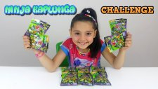 Ninja Kaplumbağa Paketleri En Güzel Oyuncak Challenge | Ninja Turtles Challenge