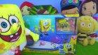 Pepee ve Niloya ile yüzen robot sünger bob oynadık. Robo Spongebob set. Sünger bob tosbik ile yüzdü