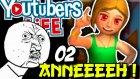 Annem Bilgisayari Kirdi | Aaaah Galbim | Youtubers Life Türkçe | 2.bölüm
