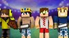 BURAK VE ÖĞRENCİSİ İSMET #3 Minecraft Dev Savaşları