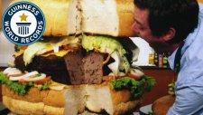 Dünyanın En Büyük Hamburgeri