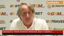 Galatasaray Teknik Direktörü Riekerink, Basın Toplantısı Düzenledi (6)