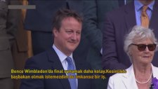 İngiltere Başbakanı Cameron Wimbledon'da Yuhalandı