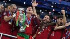 Şampiyon Portekiz Kupasını Kaldırdı!