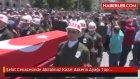 Şehit Cenazesinde Akılalmaz Kaza! Askerin Ayağı Top Arabasının Altında Kaldı