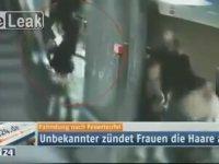 Berlin Metrosu'ndaki Saç Kundakçısı!