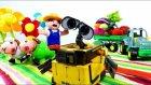 Küçük robot Wall-E - Çiftçiye yardım etmeliyiz - Eğlenceli çocuk filmi