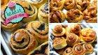 3 Farklı Açma Çörek / Mayalı Hamur Şekilleri | Ayşenur Altan Yemek Tarifleri - Kekevi