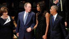 George Bush Polis Cenazesinde Dans Etti
