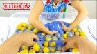 15 Kilo Slime İçinde Kapsül Bulma Oyunu! Acı Biber Cezalı