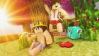 ADAMA TUZAK KURDUK  ! | Minecraft | Şans Bloklu Hunger Games | Bölüm -7 | ft.Minecraft Evi