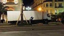Fransa'da Saldırganın Öldürüldüğü Çatışma Anları
