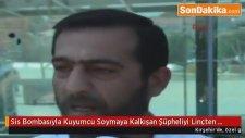 Kırşehir'de,  Sis Bombasıyla Kuyumcu Soymaya Kalkışan Şüpheliyi Linçten Polis Kurtardı