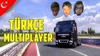 Euro Truck Simulator 2 Türkçe Online Multiplayer | Fıkralarım ve Ben