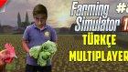 Farming Simulator 15 Türkçe Multiplayer | İneklere Yemah | Bölüm 8