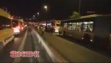 İstanbul'da Kırmızı Alarm Jandarma Boğaz Köprülerini Kapattı (15 Temmuz Cuma 2016)