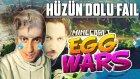 Minecraft Egg Wars Türkçe | Hüzün Dolu Fail | Bölüm 8