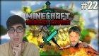 Minecraft Hunger Games Türkçe | DİAMOND KILIÇLI ADAM! | Bölüm 22