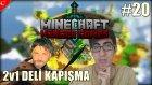 Minecraft Türkçe Hunger Games - 2v1 Dövüş! - Bölüm 20