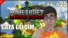 Minecraft Türkçe Hunger Games | GAZA GELDİM! | Bölüm 25