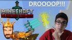 Minecraft Türkçe Hunger Games   İlk Kez Drop   Bölüm 28