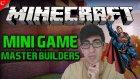 Minecraft Türkçe | İnşaat Yarışması | Mini Games | Bölüm 1