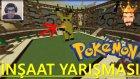 Minecraft Türkçe : Master Builders (İnşaat Yarışması) - Pokemon #7