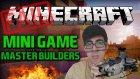Minecraft Türkçe Master Builders | Mini Games | Bölüm 4