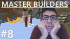 Minecraft Türkçe : Master Builders | Üzdünüz Beni!! #8