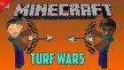 Minecraft Türkçe Multiplayer | Turf Wars | Kazanmak Bizim İşimiz