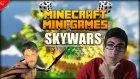 Minecraft Türkçe - SKYWARS - Mini Games | BOMBA MİNİ OYUN