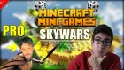 Minecraft Türkçe - Skywars - Mini Games | Pro Selim Bey