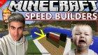 Minecraft Türkçe Speed Builders | İbretlik Karpuz | Bölüm 2