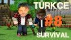 Minecraft Türkçe Survival | Multiplayer Hayatta Kalma | Bölüm 8