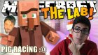Minecraft Türkçe - The Lab - Mini Games - PİG RACİNG!