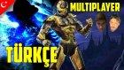 Mortal Kombat Türkçe Multiplayer | Subzero Heykel Yapar