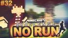 NO RUN CHALLENGE | Minecraft Hunger Games Türkçe | Bölüm 32