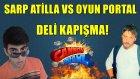 Sarp Atilla vs Oyun Portal | Cannon Brawl Türkçe | AFFETMEM!