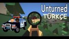 Unturned Türkçe Online | Multiplayer - Polis Arabasıyla Topuk