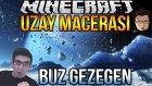 Buz Gezegen!! | Minecraft Türkçe Survival - Uzay Macerası #3