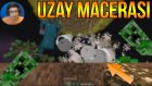 Creeper Faciası | Minecraft Türkçe Survival - Uzay Macerası #7