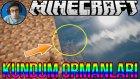 Garip Sesler?!? | Minecraft Türkçe Survival - Kundum Ormanları | Bölüm 6