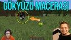 Gökyüzü Şehri? | Minecraft Türkçe Survival - Gökyüzü Macerası #1