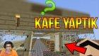 Kafe Yaptık | Minecraft Türkçe Survival - Gökyüzü Macerası #8