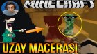 Komik Anlar :d | Minecraft Türkçe Survival - Uzay Macerası #4